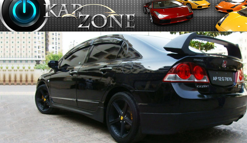 Honda Civic Car Pictures India Modified Civic India Picture